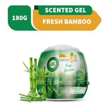 Air Wick Scented Gel Cone Fresh Bamboo 180g