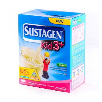 Sustagen Kid 3 Plus Vanila Milk Powder 1.2kg