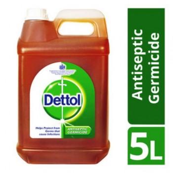 Dettol Antiseptic Brown Liquid 5L
