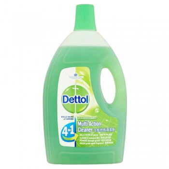 Dettol Multi Action Cleaner Green Apple 1.5L