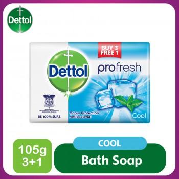 Dettol Body Soap Cool 105g 3+1