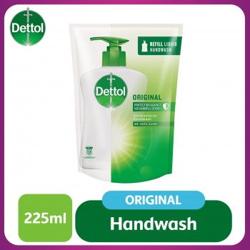 Dettol Hand Wash Original Refill Pouch 225ml