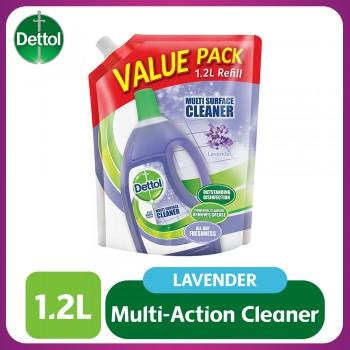Dettol Multi Action Cleaner Refill Pouch Lavender 1.2L