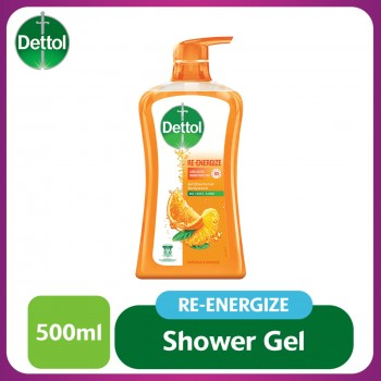 Dettol Shower Gel Re-energize 500ml