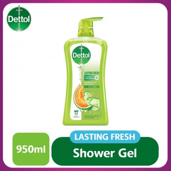 Dettol Shower Gel Lasting Fresh 950ml