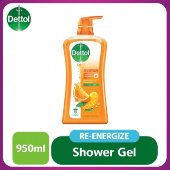 Dettol Shower Gel Re-energize 950ml