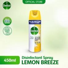 Dettol Disinfectant Spray 450ml Lemon Breeze