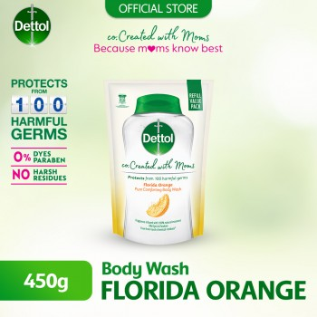 Dettol Co-Created with Mom Shower Gel Refill Citrus 450ml