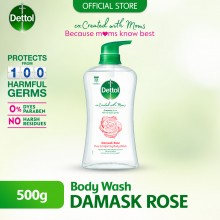 Dettol Co-Created with Mom Shower Gel Rose 500ml