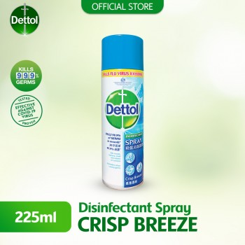 Dettol Disinfectant Spray 225ml Crisp Breeze
