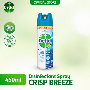 Dettol Disinfectant Spray 450ml Crisp Breeze