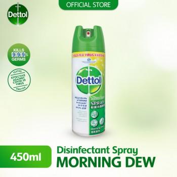 Dettol Disinfectant Spray 450ml Morning Dew