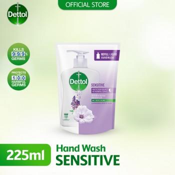 Dettol Hand Wash Sensitive Refill Pouch 225ml