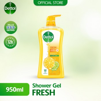 Dettol Shower Gel  950ml Fresh