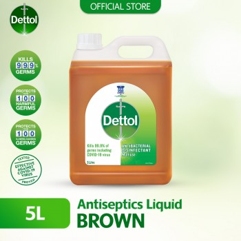 Dettol Antiseptic Brown Liquid 5L
