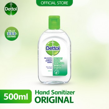 Dettol Hand Sanitizer Original 500ml