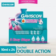 Gaviscon Double Action Liquid Sachet 10ML x 24unit