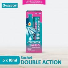 Gaviscon Double Action Liquid Sachets 5s x 10ML