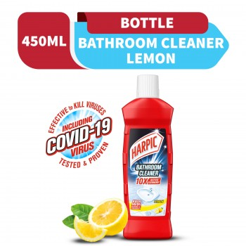 Harpic Bathroom Cleaner Lemon Bottle 450ml