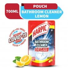 Harpic Bathroom Cleaner Lemon Refill Pouch 700ml
