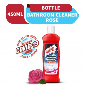 Harpic Bathroom Cleaner Rose Bottle 450ml