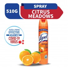Lysol Disinfectant Spray Citrus Meadow Scent 510g
