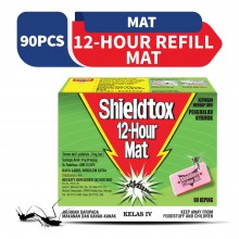 Shieldtox 12 Hours Mat Refill 90 pieces