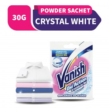 Vanish Oxi Action Fabric Stain Remover White Powder (Sachet) 30g