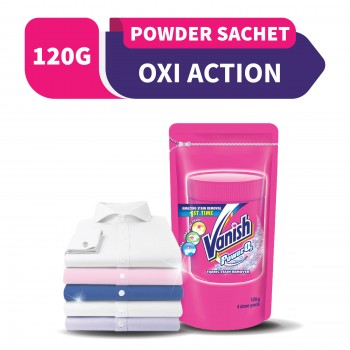 Vanish Oxi Action Pink Pouch Powder 120g