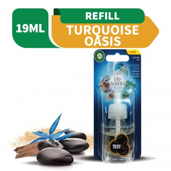 Air Wick Life Scent Turquoise Oasis LED Refill