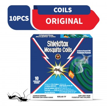 Shieldtox 8 hours Mosquito Coil 10 pieces