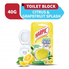 Harpic Nature Fresh Citrus & Tea Tree 40g