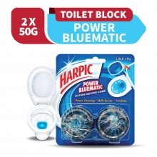 Harpic Bluematic Value Pack 50g x 2