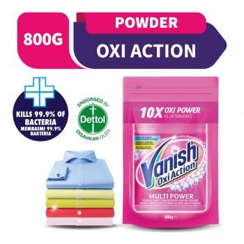 Vanish Fabric Stain Remover Laundry Detergent Powder Doy 800g