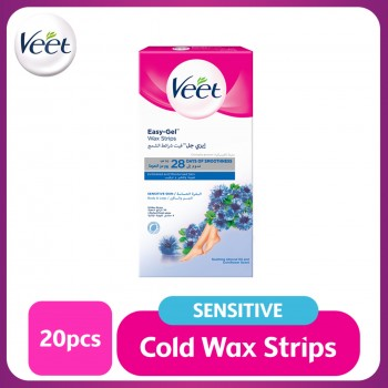 Veet Wax Strip Sensitive Skin 20's