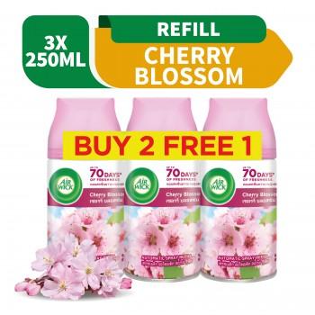 Air Wick Pure Freshmatic Refill Cherry Blossom Value Pack (250ml x 3)