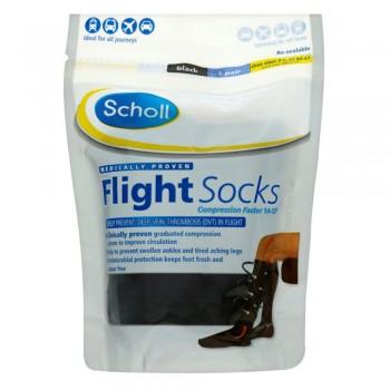 Scholl Cotton Feel Flight Socks Size 9.5-12