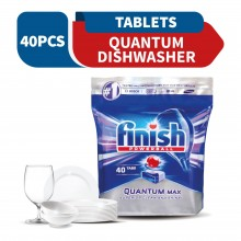 Finish Quantum Dishwasher Cleaning Tablets 40 tabs