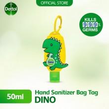 Dettol Hand Sanitiser Resfresh 50ml with Line Bag Dino