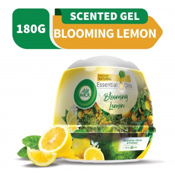 Air Wick Scented Gel Cone Blooming Lemon 180g
