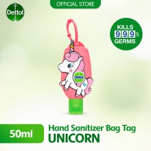 Dettol Hand Sanitiser Original  50ml Pink Unicorn