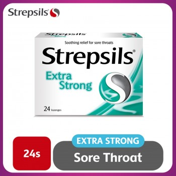 Strepsils Extra Strong Lozenges 24s