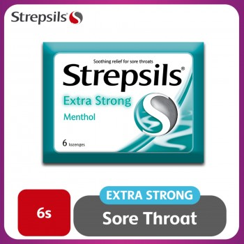 Strepsils Extra Strong Lozenges 6s